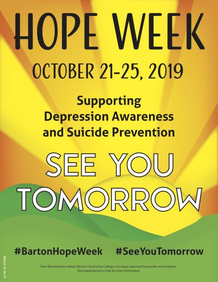 Hope Week Flier